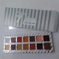 Wholesale cosmetic gift sets wholesale - NEW Cosmetics Naughty or Nice Eyeshadow Palette for Christmas Gift 14colors Eye shadow Palette Choose Your Palette DHL shipping