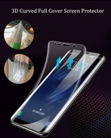 Wholesale huawei mate 10 pro screen protector online – 3D Curved Full Cover Ultra thin Clear Soft TPU Screen Protector Film For Samsung S9 S10 S20 Plus Note Note Plus Huawei P40 Mate Pro