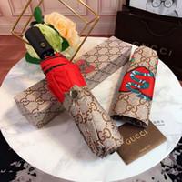 ingrosso cell phones england-NOVITÀ Fashion Classic modello animale logo Ombrello per donna 3 Fold Classic Ombrello con confezione regalo e borsa Ombrello pioggia regalo VIP