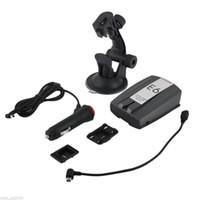 Wholesale Remote Alert - E6 Cobra Full Band Car Radar Detector Laser Speed Alert With English Police Dog