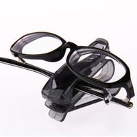 armações de óculos carro titular venda por atacado-Carro S Tipo de Óculos Clipe de Função Múltipla Titular do Cartão de Clipe Titular do Bilhete Clipe Óculos de Armação de Alta Qualidade 100 PCS
