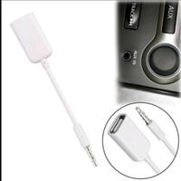 usb weiblicher apfel großhandel-2018 heißer 3,5mm Stecker AUX Audio Stecker Jack USB 2.0 Buchse Kabel Kabel Auto MP3