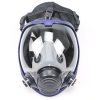 Wholesale face paintings resale online - Full Face Outdoor Multifunction Mask Respirator Gas Mask Anti dust Chemical Safety Mask with Coon Filter for Industry Painting