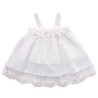 Wholesale tu clothing for sale - Infant Newborn Kids Baby Girls Summer Dress Princess Party Flower Tu tu Dresses Cotton Black Clothes