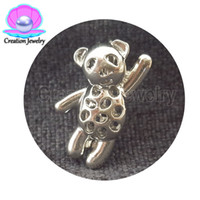 Wholesale dream charms - Creation Jewelry Silver plated 5 pieces lot Dream Catcher wings hello kitty Pearls Cages For Jewelry DIY