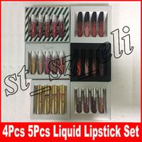 Wholesale sugar lipstick resale online - New makeup Cosmetics KOKO kollection liquid lip spice sugar matte liquid lipstick set holiday lip gloss
