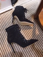 Wholesale three boots for sale - Group buy Ankle boots three colors for choosing heels high cm please contact us for more information