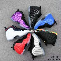 Wholesale Childrens Summer Shoes - 7 colors Childrens Hardaway basketball shoes boys girls Hardaway one fashion sports shoes kids Size Euro28-35