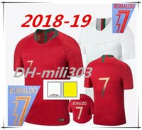 Wholesale Dry Sell - Selling 2018 2019 World Cup Jersey RONALDO NANI Football Shirt 18 19 DANILO PORTUGAL PEPE Maillot de Foot Cristiano Eder Soccer Jersey
