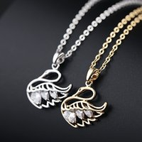 Wholesale rhinestone cross transfers - Hot summer transfer cylinder, love, swan, cross zircon chains, short and simple fashion style circle necklace, free shipping.