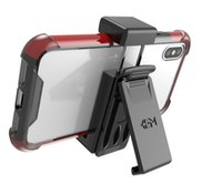 Wholesale Holsters For Cellphones - Universal Holster with Belt Clip for Cellphone iPhone X 8 7 Samsung A7 2018 Fit Mobile Under 5.7 inch OPP Bag
