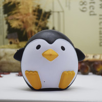 Wholesale Penguin Dolls - Jumbo Squishy Slow Rising Toy Penguin Squeeze Doll Cute Squishies Bread Kawaii Toys for Stress Relief STS05