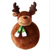 hirsch plüschtiere großhandel-Schneemann Hirsch Puppen und Plüschtiere Geschenke für Weihnachten