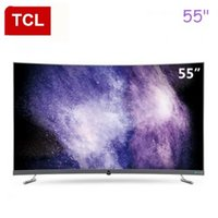 Wholesale tvs 55 for sale - inch curved surface ultra high clear K TV all Tvs Buy Cheap 2019 on Sale in Bulk from