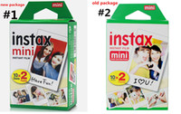 Wholesale wholesale polaroid cameras online - Newest Instax White Film Intax For Mini S s Polaroid Instant Camera DHL free