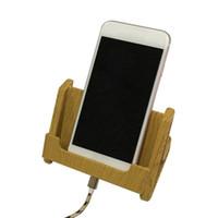 aufladung telefonständer großhandel-Boutique Universal-Handyhalter Handyhalter Imitat Holzmaserung multifunktionaler Handyhalter Ladebasishalterung 116
