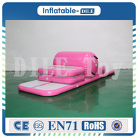 Wholesale water pumps for sale online - A Set air track roller pump Inflatable Air Track Water Trampoline Airtrack Gymnastics Air Mat For Sale