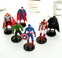 Wholesale doll league legends - Action Figures League of Legends creative toys Avengers movable model hand office anime around doll ornaments