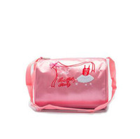 bolso cosmético lazo de encaje al por mayor-Venta al por mayor de color rosa bolsos de embrague de moda ballet ballet crossbody bordado de encaje bolsas de cosméticos bolsas para niños envío gratis