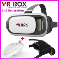 Wholesale free google cardboard for sale - HOT Google cardboard VR BOX II VR Virtual Reality D Glasses For inch Smartphone Bluetooth Controller