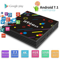 Wholesale android video streaming resale online - Cheapest GB GB TV Box H96 Max Rockchip RK3328 Android TV Box Dual WiFi BT4 Smart K Video streaming box