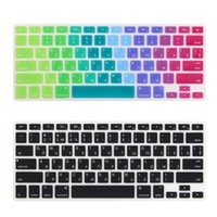 Wholesale a1369 keyboard - Russian US Enter alphabet Keyboard Cover Stickers Protector for MacBook .3 Mac Book Air13 inch A1466 A1369