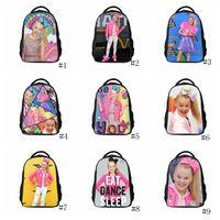 Wholesale kid beds storage for sale - Jojo Siwa Backpack Kids Casual Travel Shoulder bag School Bags for Teenage Girls Daily Backpacks storage Bags GGA1191