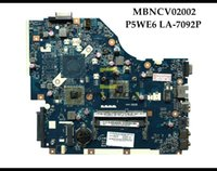 Wholesale High quality P5WE6 LA P for Acer Aspire laptop Motherboard MBNCV02002 AMD DDR3 Fully Tested
