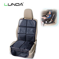 Wholesale Rear Child Seat - LUNDA OXFORD Luxury Car Seat Protector,Child or Baby Auto Seat Protector Mat,Protection For Car Seats,Black Leather