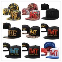 Wholesale good snapbacks - Good Selling New Arrival THE MONEY TEAM Snapback Sport Hats Caps Adjustable Snapbacks Snap-back Adult Hat Cap Free Shipping