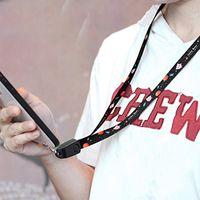 sangles de poignet pour téléphones cellulaires achat en gros de-Câble de charge de données USB téléphone cordon lanière cou main poignet bracelet chargeur câble pour iPhone XS Max XR Type-C Android téléphone portable accessoires