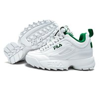 Wholesale female footwear -  Disruptors II 2 New Men and Women Running Shoes Female Sports white green Shoes Damping Summer Outdoor Footwear Discount Sale