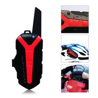time motorcycle Canada - Bluetooth Motorcycle Helmet 3000m Intercom Waterproof Hands-free Motorbike with long time Interphone Headset For Motorcyclist