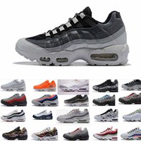mejor zapatilla de correr para mujer al por mayor-Mejores productos de mayor venta para mujer zapato de carrera libre 95 ERDL Goes Full Camo Runner Shoe mens white Camouflage Essential Sports Casual zapatos