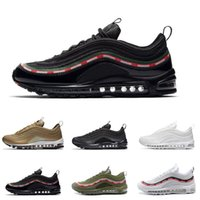 Wholesale sneaker shoes uk for sale - 97 OG Country Camo Japan Italy UK Triple Black White Green Running Shoes Men S Camouflage Ultra Bullet M Premium Zoom Trainers Sneakers