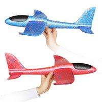 Wholesale Epp Planes - 1pcs EPP Foam Hand Throwing Airplane Aircraft Launch Glider Plane Model Outdoor Sports Fun Toys For Kids Children As Gift