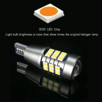 led-leuchten 921 glühbirnen großhandel-2x W16W 921 T15 P21W 1156 Canbus Auto LED Ersatzlicht Auto Rückfahrscheinwerfer Lampe Für Skoda Superb Octavia A7 A 5