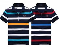 Wholesale sharks shirt - NEW Paul SHARK Yachting polo shirts 2018 Italian Brand MEN'S FASHION SUMMER T-Shirt #761 Italy tops business casual Tees