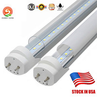 Wholesale bulb stock for sale - US STOCK ft m mm T8 Led Tube Lights High Super Bright w W W Warm Cool White Led Fluorescent Tube Bulbs AC V