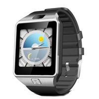 wifi pedometre toptan satış-3G WIFI QW09 Android Akıllı İzle 512 MB / 4 GB Bluetooth 4.0 Gerçek Pedometre SIM Kart Çağrı Anti-kayıp Smartwatch 10 adet / grup