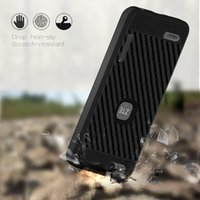 Wholesale cases for zte - TPU Armor case For ZTE Avid 4 MetroPCS For Huawei Y7 prime For ZTE Tempo x N9137 boost Carber Fiber Cover