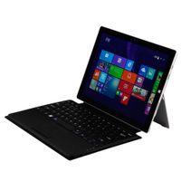 couvertures de clavier en plastique achat en gros de-Freeshipping Plastique Durable Léger Magnétique TouchPad Bluetooth 3.0 Clavier Type Cover pour Microsoft Surface Pro 3