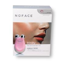 yüz bakım araçları toptan satış-Nuface Trinity Pro Yüz Masaj Eğitmen Seti Temizleme Cilt Bakımı Araçları Yüz Temizleme Cihazı Kadınlar için Temizlik cihazı Ücretsiz Kargo