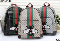 Wholesale new g3 - 2018 New arrival men women's Backpack LITTLE BEE Sport Backpack for women men Trend all-match fashion bags G3