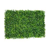 поддельные коврики оптовых-40x60cm искусственный газон искусственная трава коврик корм для домашних животных коврик пластиковые толстые поддельные травы газон микро пейзаж