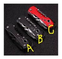 ingrosso coltello da tasca boker-offerte speciali Boker Small Boar Mini Folding Blade Manico in alluminio Coltelli da campeggio Coltello da sopravvivenza per esterni Coltelli da tasca portatili