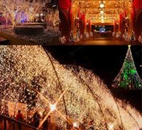 dekorative fensterleuchten großhandel-Loende Batteriebetriebene 8 Modi 200 LEDs Lichterkette Wasserdichte dekorative Außenlampe mit Fernbedienung Fenster Hochzeit Weihnachten