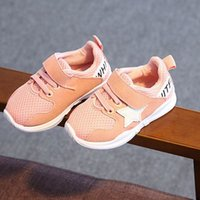 Wholesale Grid Floor - 2018 new hot sales Children Baby Boy Birl Leisure Breathable Grid Shoes Soft Sole Runing Sneaker