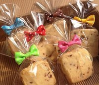 Wholesale bread tie resale online - DIY Baking Bread Bag Sealing Bowknot Cookie Packing Bags Wire Lollipop Cake Pops Packing Tie