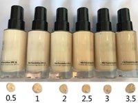 ingrosso evidenziatore marrone-Fondotinta liquido lungo marrone Bobi fondotinta uniforme SPF 15 PA +++ Fondotinta 30ml